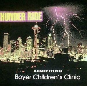 Harley Davidson Seattle Thunder Ride t shirt M